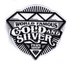 Gold & Silver Pawn Magnets B&W Diamond (High Resolution)