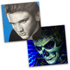 Elvis Presley UV Reactive Original Art