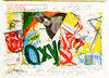 James Rosenquist; One Cent Life