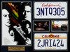 The Fast & The Furious Movie Prop Car Plates & Memorabilia