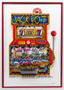 3-D Art by Charles Fazzino - Slots of Fun closer view