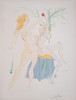 """Salvador Dali; """"Adam and Eve """" from Our Historical Heritage (1)"""