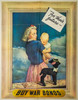"""""""For Their Future"""" WWII War Bond Poster"""