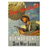 """Back the Attack!"" WWII War Bond Poster (thumbnail)"