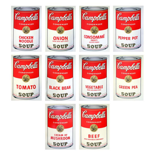 Andy Warhol; Soup Can Series I