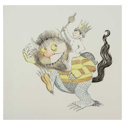Maurice Sendak; Where the Wild Things Are VII