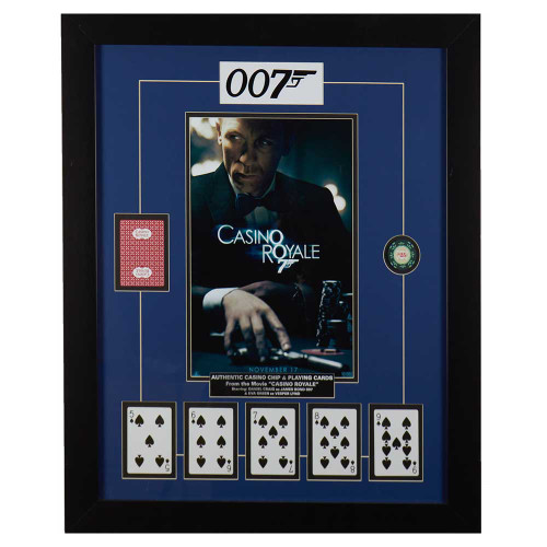 007, James Bond, Casino Royale, movie, movie memorabilia, Daniel Craig
