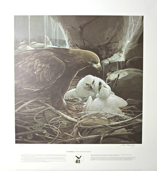 "Mario F Fernandez; ""Loving Majesty - Golden Eagle"""