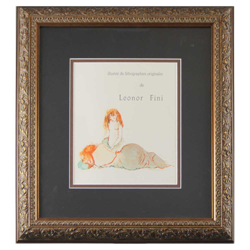 Leonor Fini; Illustré de Lithographies Originales - Sieste