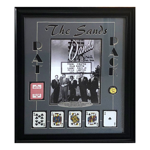 The Sands Rat Pack Memorabilia