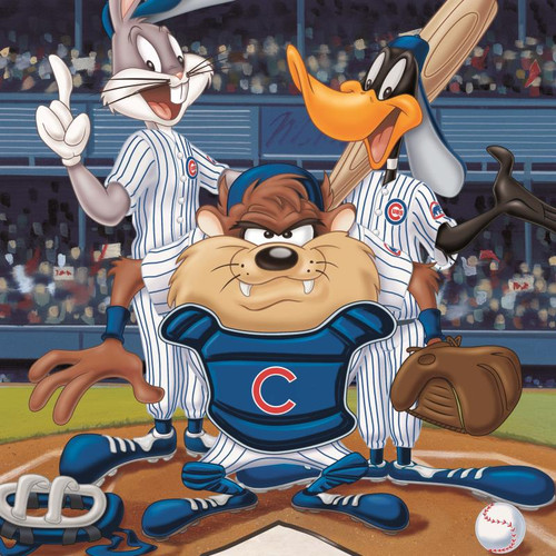 Looney Tunes; At the Plate (Cubs)