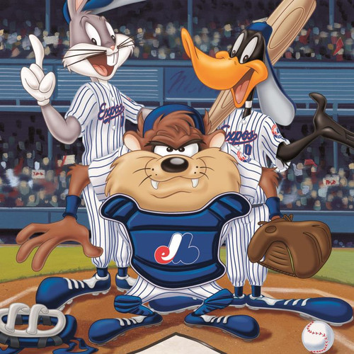 Looney Tunes; At the Plate (Expos)