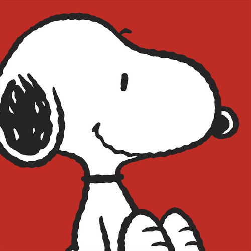 Peanuts; Snoopy - Red