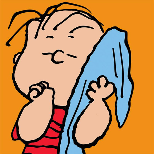 Peanuts; Linus - Orange