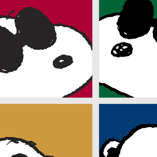 Peanuts; Snoopy - Faces