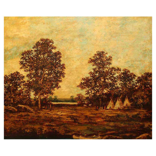 Ralph Albert Blakelock;Indian Encampment