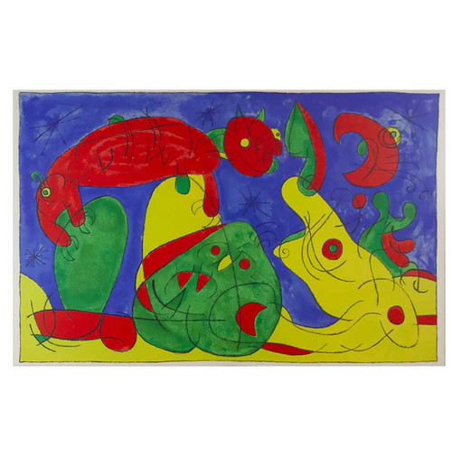 Joan Miro; La Nuit, l'Ours (The Night, the Bear)