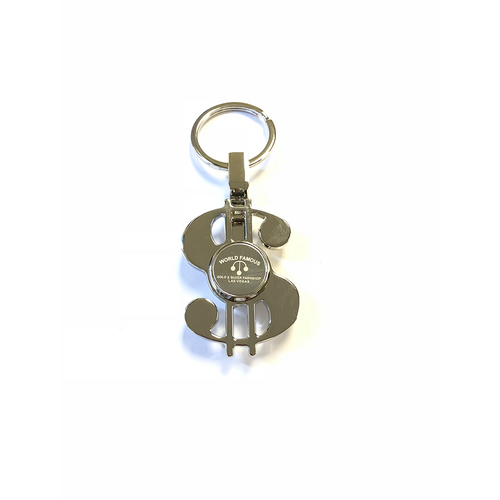Money Sign Spinner Keychain