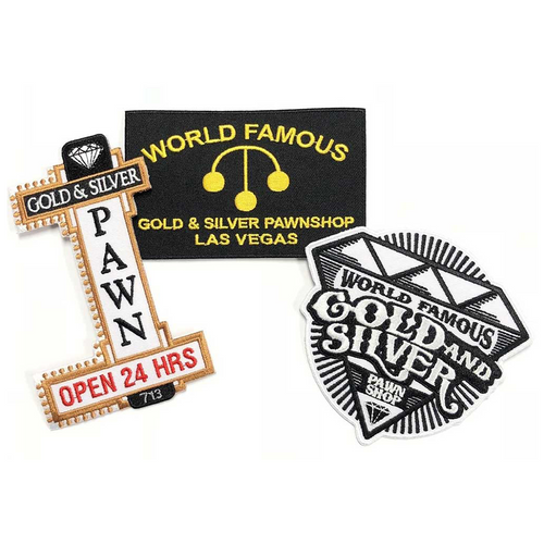 Gold & Silver Pawn Patches