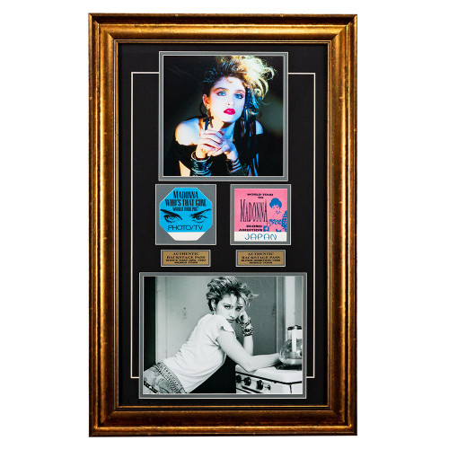 Madonna Memorabilia - Backstage Passes Framed