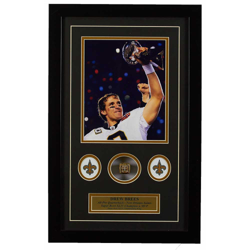 Drew Brees Memorabilia Framed