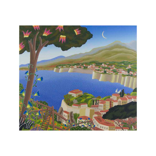 Thomas McKnight, Sorrento, Southern Italy, serigraph, limited edition, signed