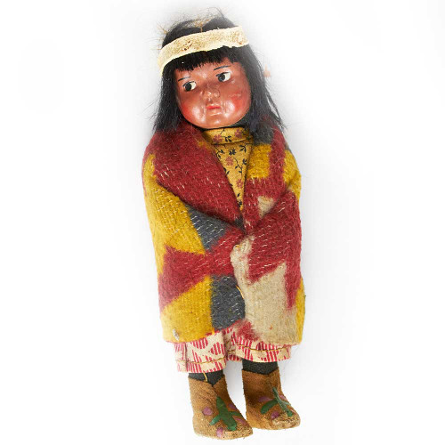Skookum, doll, dolls, toys, antique, vintage
