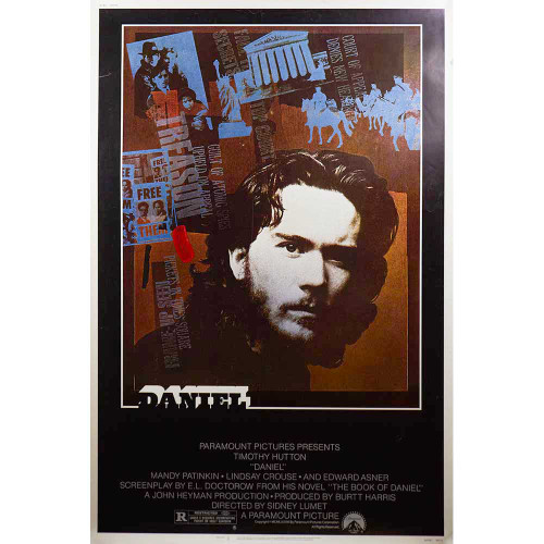 Daniel, movies, posters, movie posters, Timothy Hutton, Mandy Patinkin, Lindsay Crouse