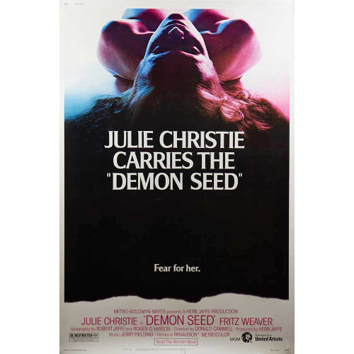 Demon Seed, Julie Christie, Fritz Weaver, movies, posters, movie posters