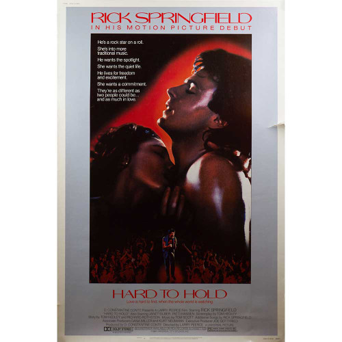 Hard to Hold, Rick Springfield, Patti Hansen, Janet Eilber, movies, posters, movie posters