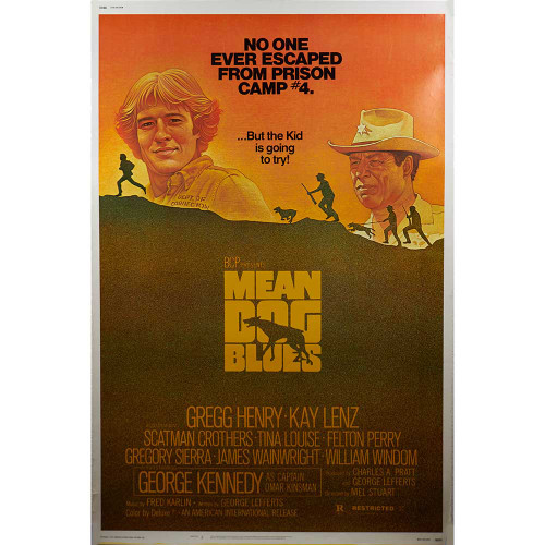 Mean Dog Blues, Gregg Henry, Kay Lenz, movies, posters, movie posters, drama