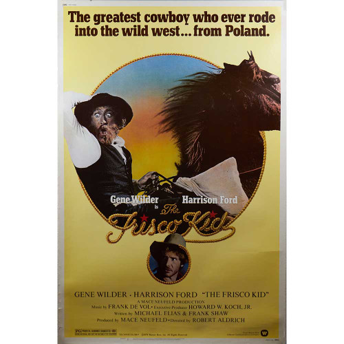 The Frisco Kid, Gene Wilder, Harrison Ford, movies, posters, movie posters, comedy, western