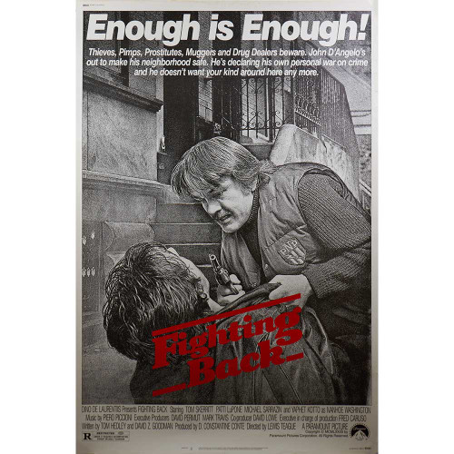 Fighting Back, Tom Skerritt, Patti LuPone, movies, posters, movie posters, drama