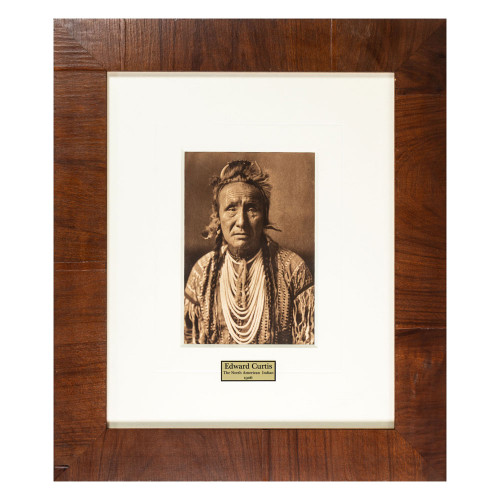Edward Curtis, American photographer, photography, Native American, American West (thumbnail)