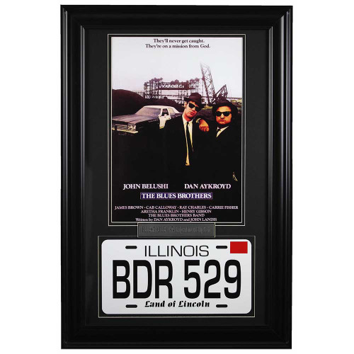 The Blues Brothers Framed Memorabilia