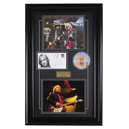 Tom Petty and the Heartbreakers framed memorabilia