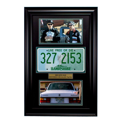 """Breaking Bad"" TV Show Memorabilia - Heisenberg License Plate Thumbnail"