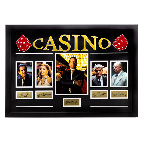 Casino Movie Cast Signature Memorabilia Thumbnail