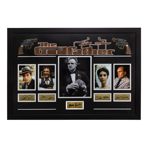 Godfather Movie Cast Signature Memorabilia Thumbnail