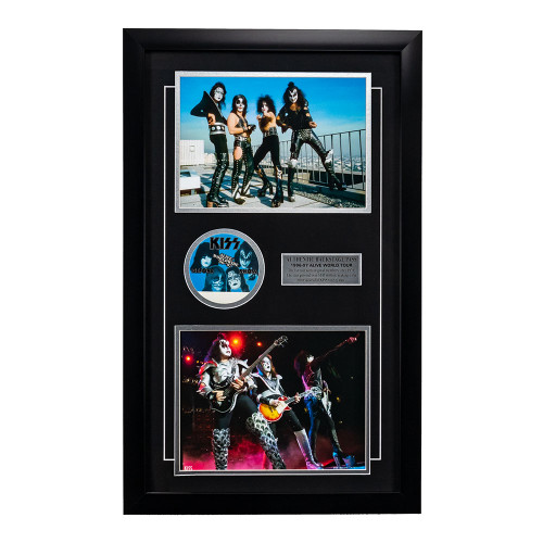 KISS Rock Band Memorabilia - Backstage Pass Framed