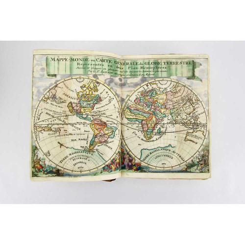 "Nicolas Sanson's ""Gentleman's Pocket Atlas"""