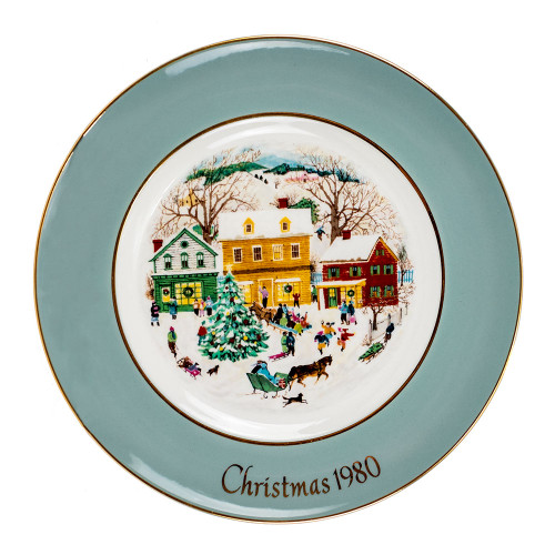 """Country Christmas"" Collectible Decorative Plate Thumbnail"