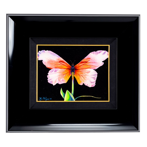 Tom di Jacco; Surrealist Butterfly framed