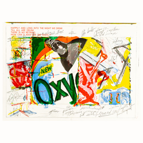 James Rosenquist; One Cent Life Thumbnail