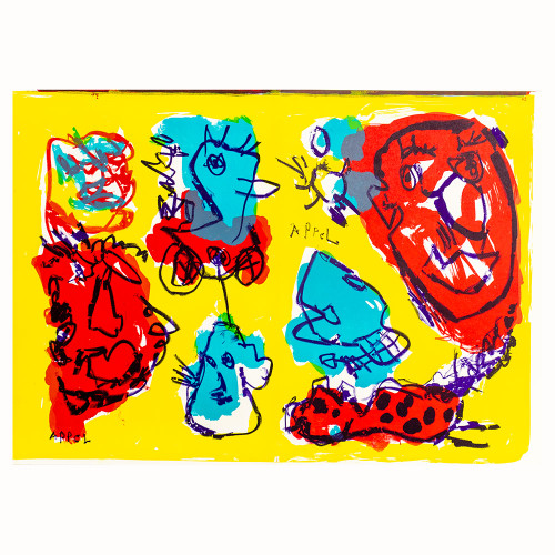Karel Appel; One Cent Life 3 Thumbnail