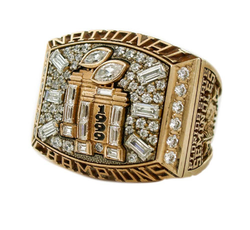 1999 Florida State NCAA College Football Championship Ring Face