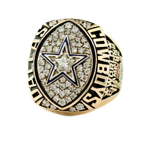 1992 Dallas Cowboys NFL Super Bowl Championship Ring Face