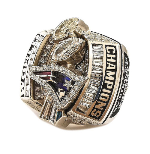 NEED INFO - 2003 New England Patriots NFL Super Bowl Championship Ring Face