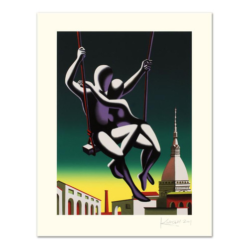 Mark Kostabi; Above The World