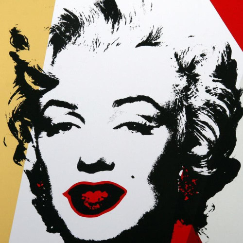 Andy Warhol; Golden Marilyn 11.37 thumbnail